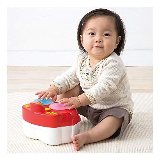 面包超人  电子音乐手拍鼓 音乐鼓 触摸拍拍鼓宝宝玩具