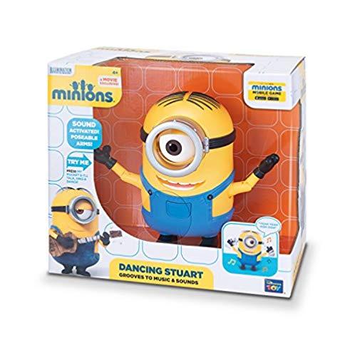 Minions 会跳舞的小黄人之弹吉他的Stuart