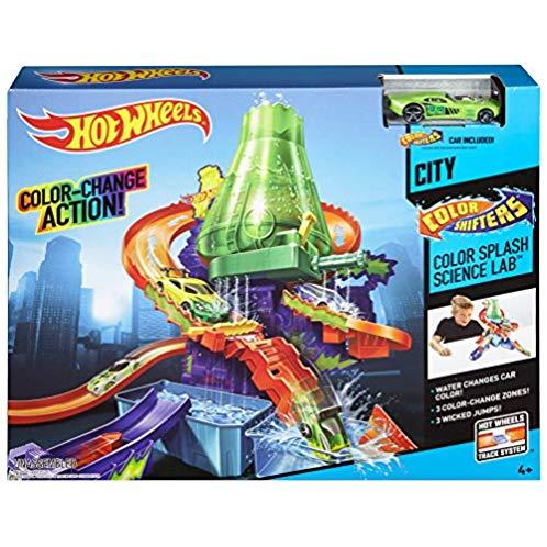 Hot Wheels 风火轮 色彩飞溅科学实验室飞车玩具