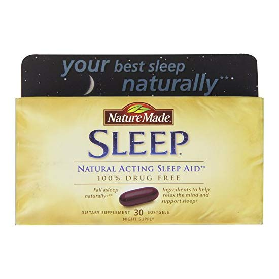 Nature Made Sleep Natural 褪黑素液体胶囊