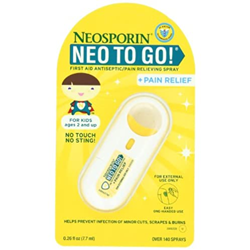NEOSPORIN First Aid Antiseptic Foam 儿童伤口消炎止痛喷雾