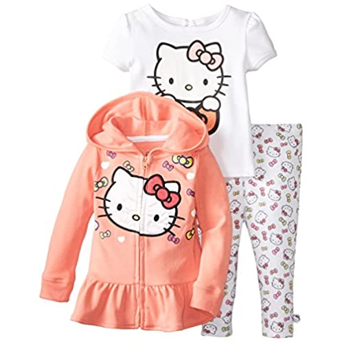 Hello Kitty Baby 女童套装 (1-2岁)