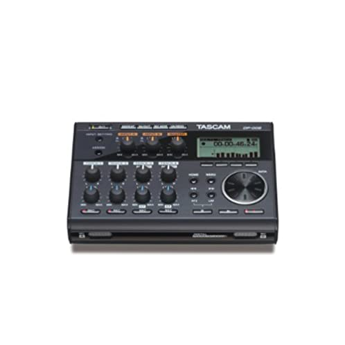 TASCAM DP-006 Digital Portastudio 6-Track Portable Multi-Track Recorder