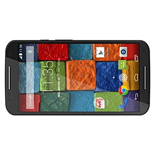 Motorola Moto X (2nd generation) - GSM - Unlocked - Black Leather