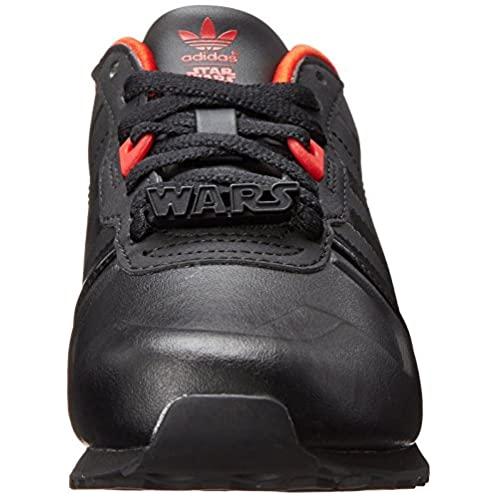 adidas Originals ZX 700 Darth Vader K Running Shoe (Little Kid/Big Kid)