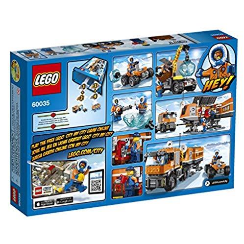 LEGO 乐高 城市系列60035北极科考站