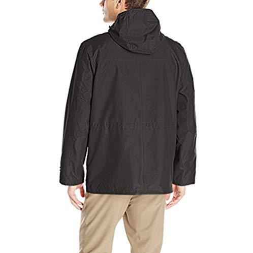 London Fog 伦敦雾 男士3合1连帽保暖防水夹克外套
