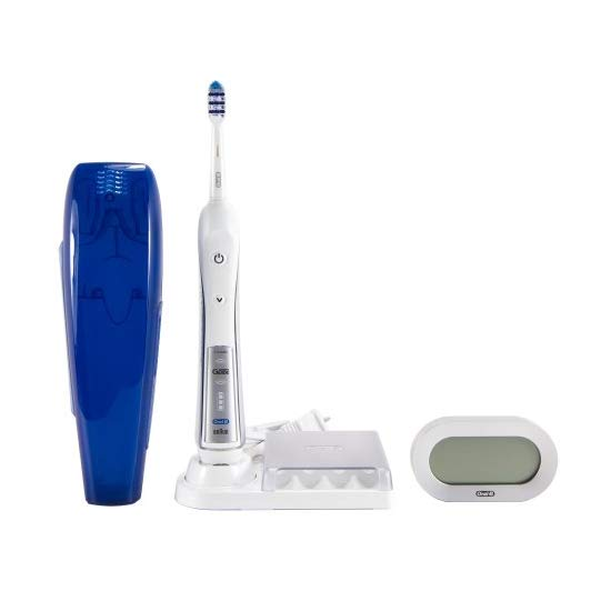 Oral-B Professional Deep Sweep + Smartguide Triaction 5000 Rechargeable Electric Toothbrush 1 Count