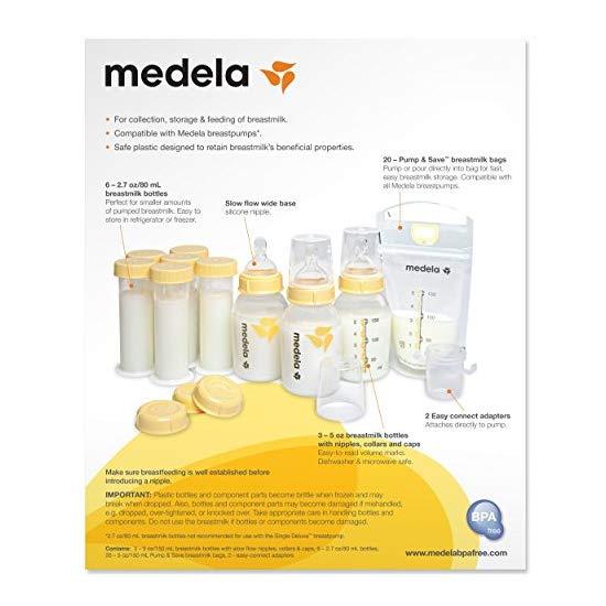 Medela Breast Milk Feeding Gift Set
