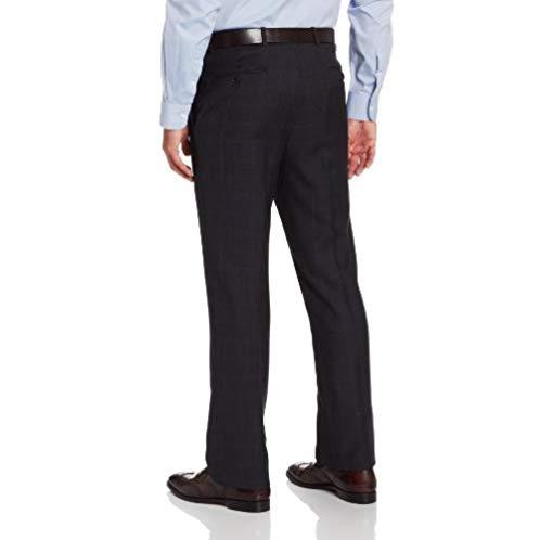 Tommy Hilfiger Men's Nathan Navy-Plaid Suit