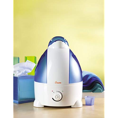 Crane Adorable Ultrasonic Cool Mist Humidifier with 2.1 Gallon Output per Day - Penguin