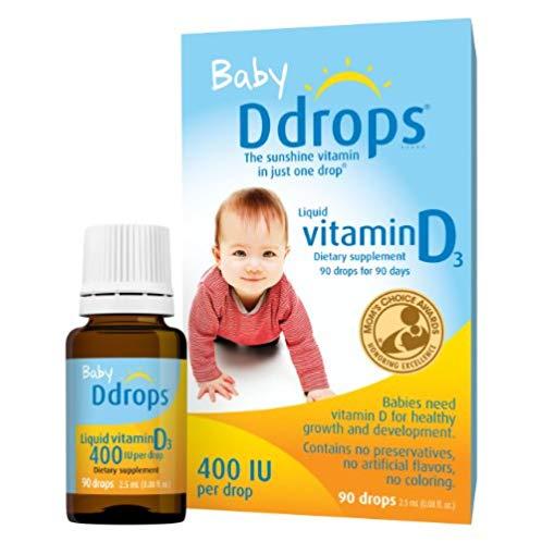 Ddrops Baby Vitamin D3 婴儿维生素D3滴剂