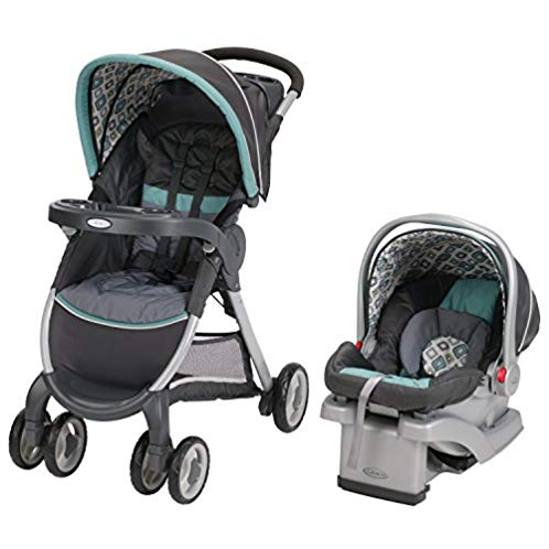 Graco Fastaction Fold Click Connect Travel System, Affinia