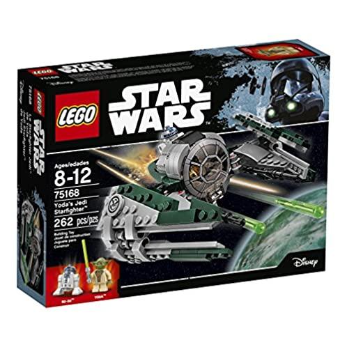 乐高 LEGO Star Wars Yodar's Jedi Starfighter 75168 Building Kit (262 Pieces)