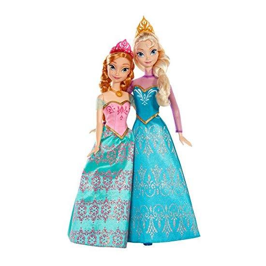 Disney 迪士尼冰雪奇缘 Anna公主和 Elsa公主芭比玩偶