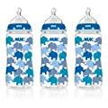 NUK Trendline Fashion Orthodontic 婴儿奶瓶 300ml*3支 德产
