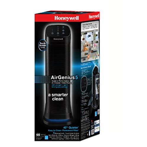 Honeywell AirGenius5 Air Cleaner/Odor Reducer, HFD320