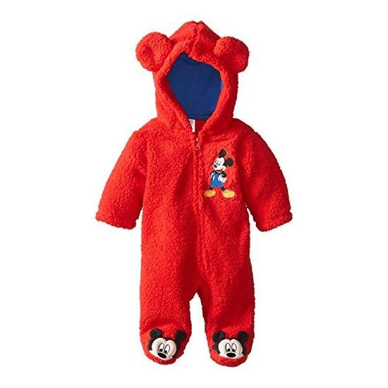 Disney Baby Baby-Boys Newborn Mickey Hooded Pram