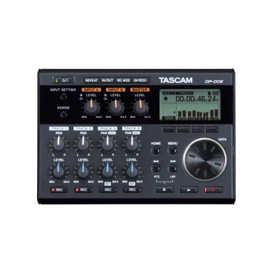 TASCAM DP-006 6 轨数码录音机工作站
