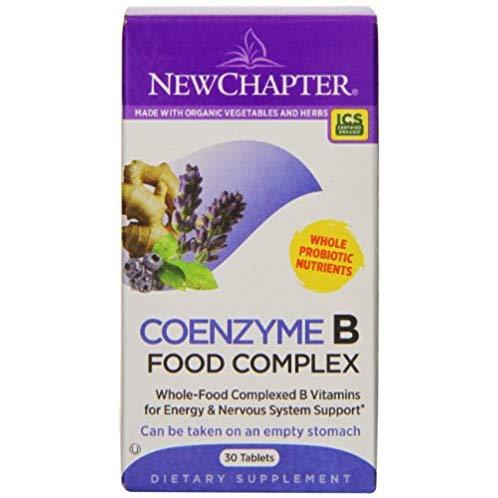 New Chapter 新章 Coenzyme B Food Complex 活性辅酶复合维生素B益生菌 保健品 180粒