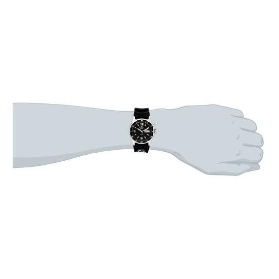Orient Men's CEM65004B 'Black Mako' Automatic Rubber Strap Dive Watch