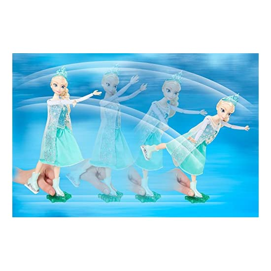 Disney 迪士尼 Frozen Ice Skating Elsa Doll 冰雪奇缘玩具艾莎女王套件