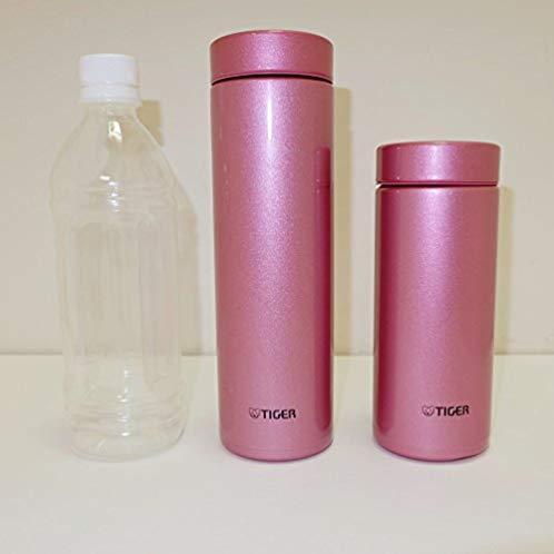 TIGER 水筒 ステンレスミニボトル 「サハラマグ」 軽量(夢重力) ブライトピンク 0.5L MMZ-A050-PH