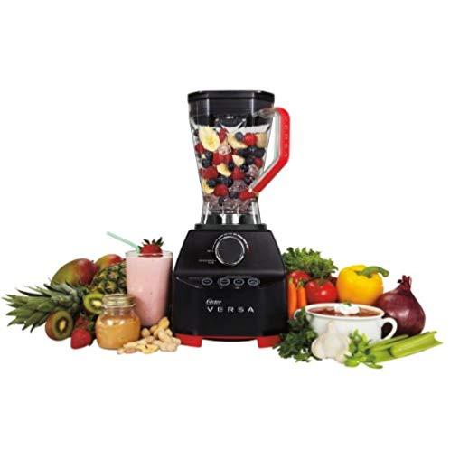 Oster VERSA 1400-watt Professional Performance Blender with Low Profile Jar + Bonus Cookbooks, BLSTVB-RV0-000
