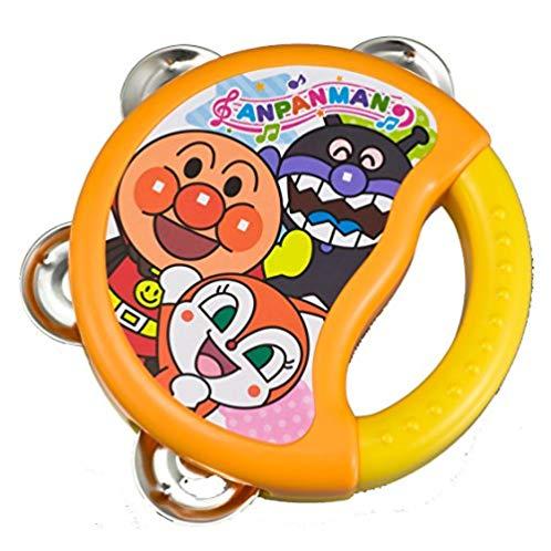 面包超人 乐器系列 宝宝摇铃 婴幼儿手拍鼓 拨浪鼓玩具