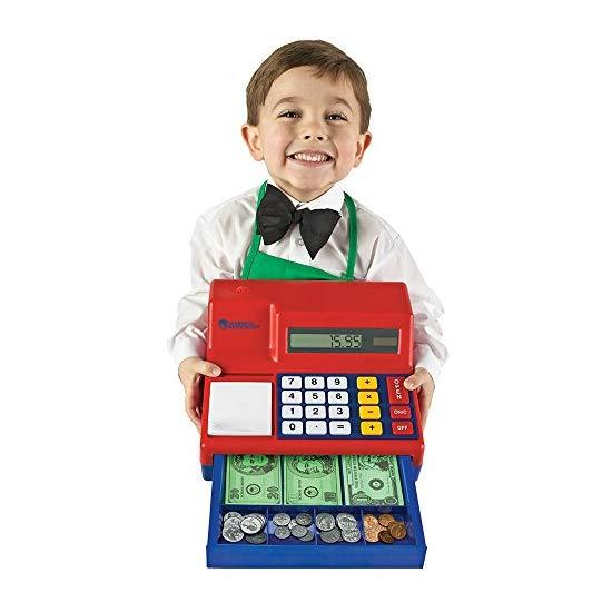 Learning Resources 儿童计算器收银机玩具