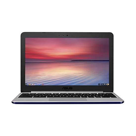 华硕 ASUS C201 11.6寸笔记本 (Rockchip, 4 GB, 16GB SSD, Navy Blue)