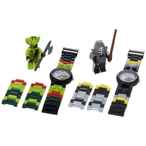 LEGO Kids' 9009891 Ninjago Kendo Cole and Lasha Watch Set