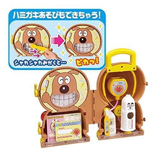 Joy palette Anpanman Talking Doctor bag set with Toothbrush set