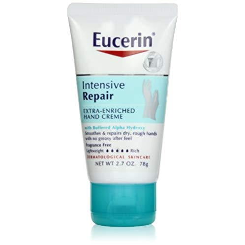 Eucerin Intensive Repair Extra-Enriched Hand Creme, 2.7 oz.