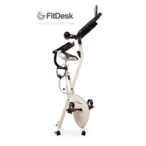 FitDesk v2.0 Desk Exercise Bike with Massage Bar