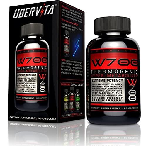 Ubervita W700 产热超代谢胶囊 60粒