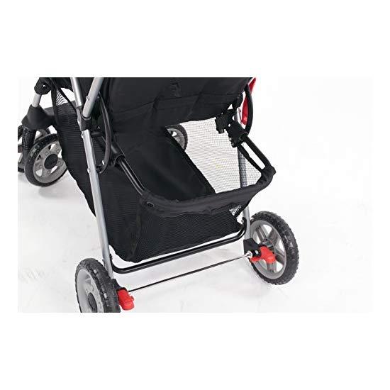 Kolcraft Cloud Plus Lightweight Stroller, Fuchsia