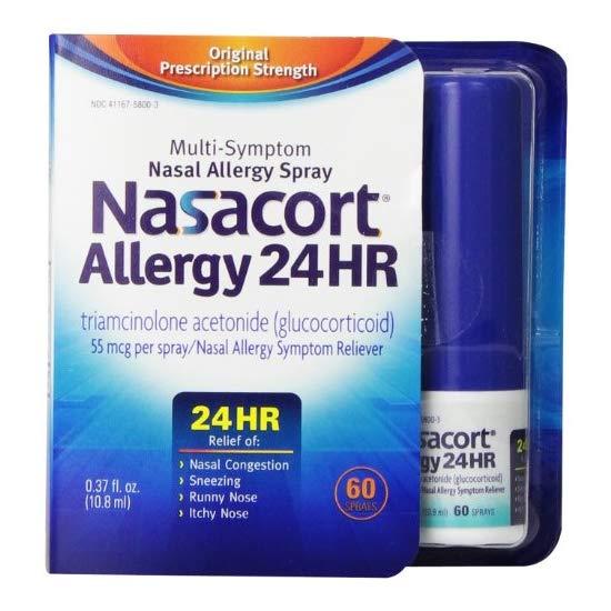 Nasacort 24小时抗过敏喷雾