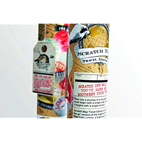 Luckies of London Scratch Map Travel Edition (USLUKSTRA)