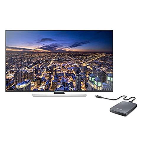 Samsung 50-Inch 4K Ultra HD 3D TV (HU8550 Series) with 4K Video Pack