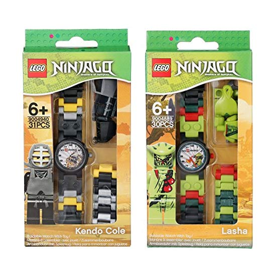 LEGO 乐高  Ninjago系列儿童手表套装