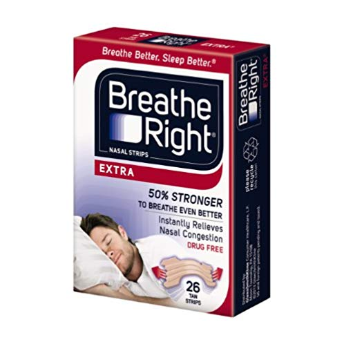 Breathe Right 鼻舒乐 强效通鼻贴 26只装