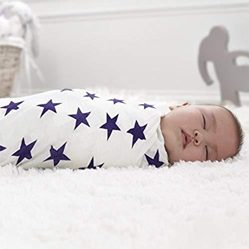 aden+anais 竹纤维竹纱棉婴儿大包巾 抱毯 包被 3条装