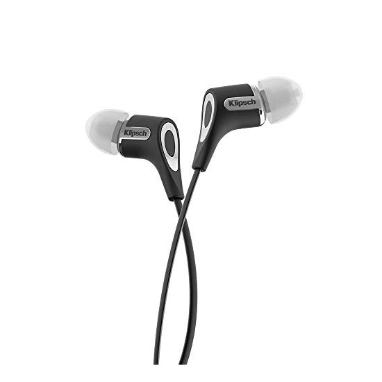 Klipsch R6 Black In-Ear Headphone with Patented Oval Tip (Black)