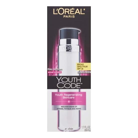 L'Oreal Paris Youth Code Day Lotion SPF 30, 1.7 Fluid Ounce