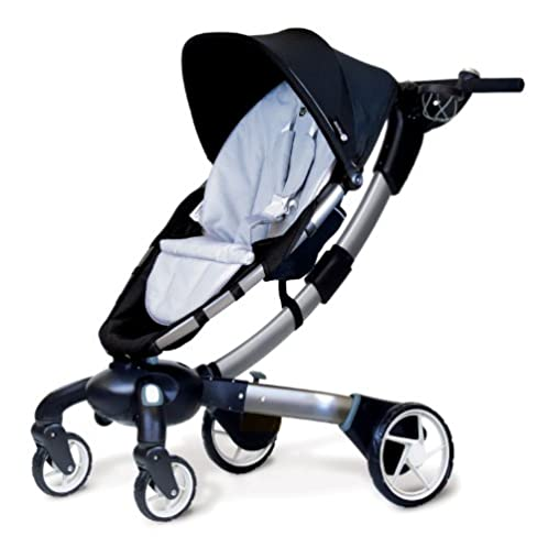 4moms Origami Stroller, Black/ Silver