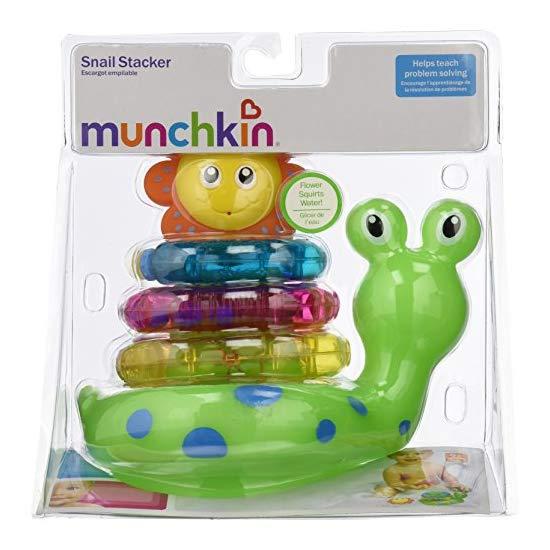 Munchkin 麦肯奇 蜗牛堆砌沐浴玩具