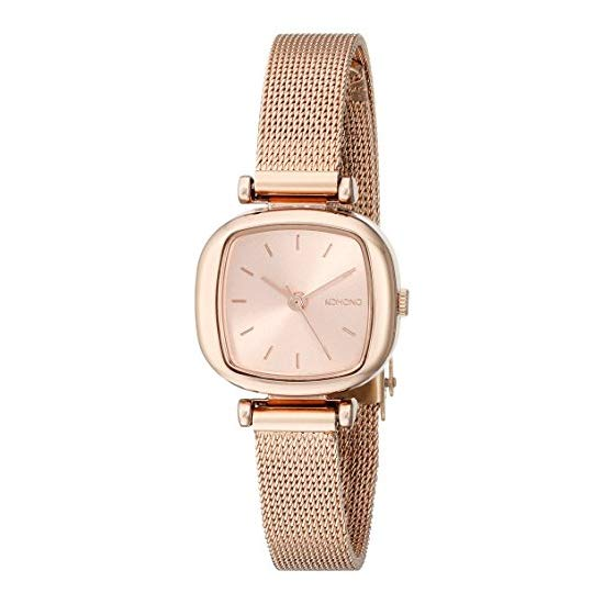 KOMONO Women's KOM-W1241 Moneypenny Royale Series Analog Display Japanese Quartz Rose Gold-Tone Watch