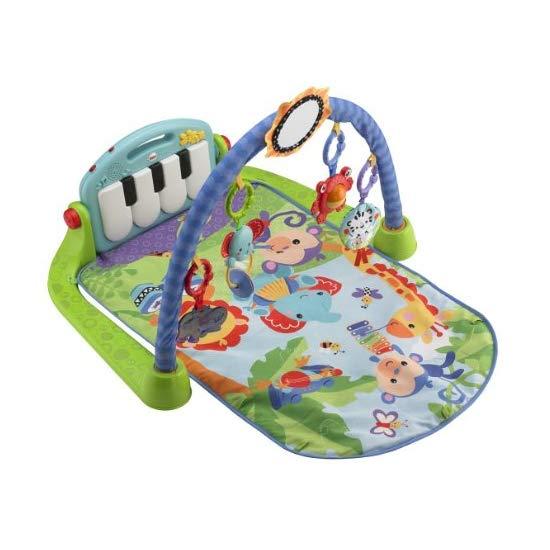 Fisher-Price 费雪 Kick and Play Piano Gym 钢琴游戏毯