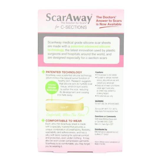 ScarAway C-Section 剖腹产专用疤痕贴